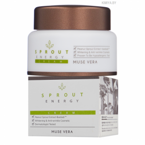 NEW Крем с баобабом 50мл - MUSE VERA SPROUT ENERGY CREAM