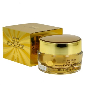 Крем для век GALAC 30г - DEOPROCE SNAIL GALAC REVITAL EYE CREAM