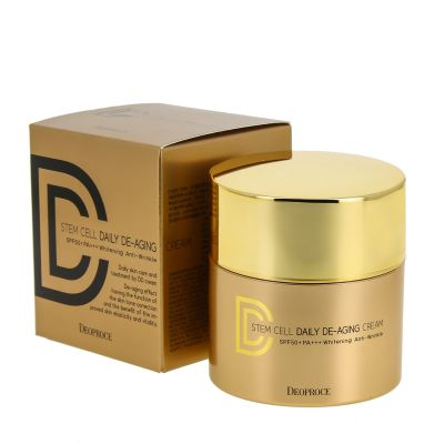 DD-крем 40г - DEOPROCE STEM CELL DAILY DE-AGING CREAM