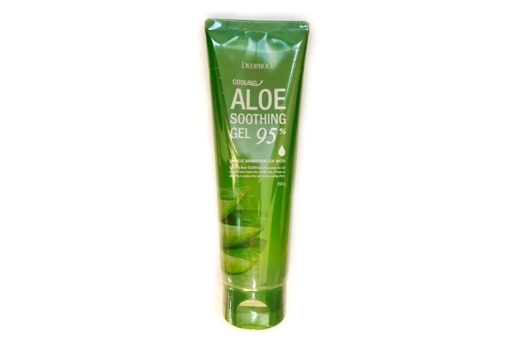 NEW Гель с экстрактом алоэ 250г - DEOPROCE COOLING ALOE SOOTHING GEL